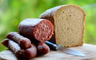 Сроки годности и условия хранения колбас в зависимости от вида и оболочки