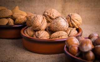 Правильное хранение очищенных орехов в домашних условиях: как, где и в чем
