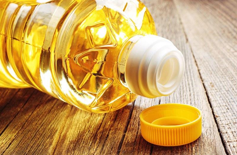 рафинированное масло подсолнуха