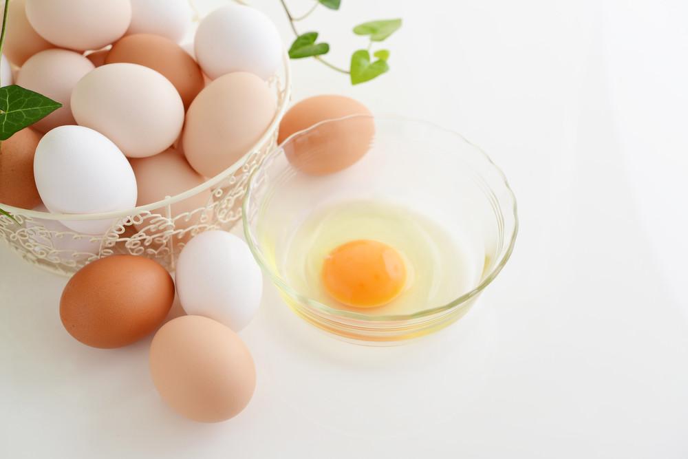 Хранение разбитых яиц